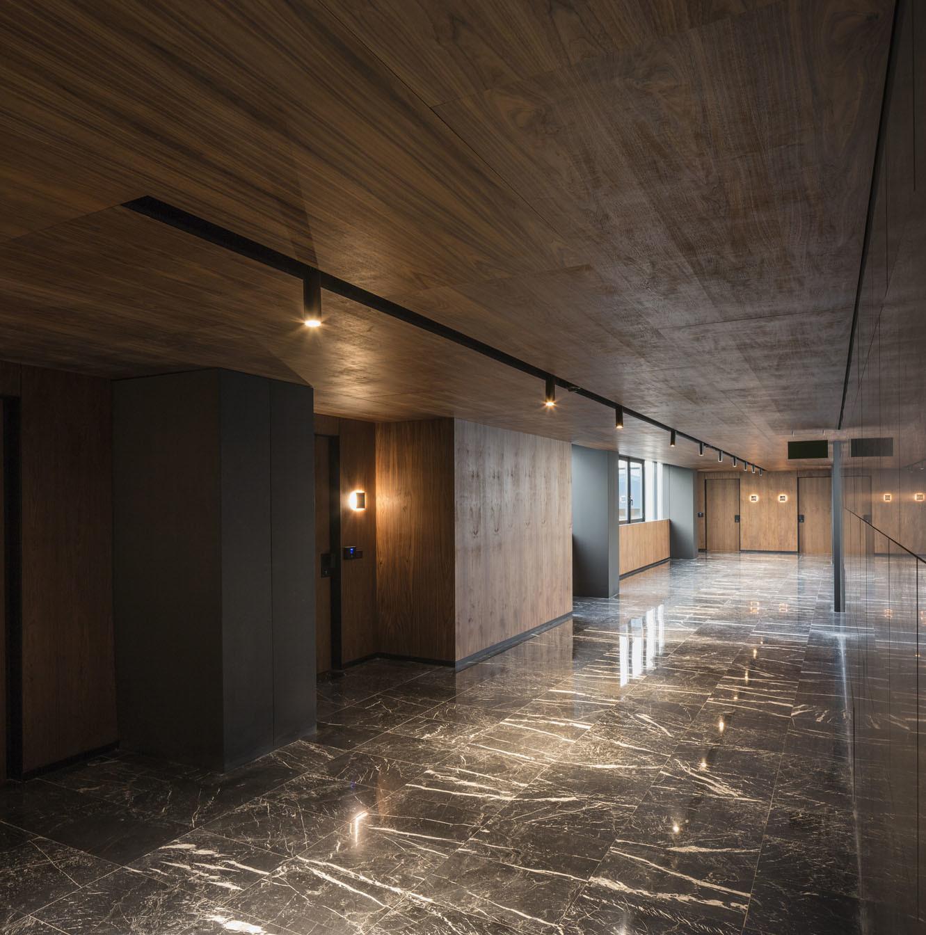 General view corridor