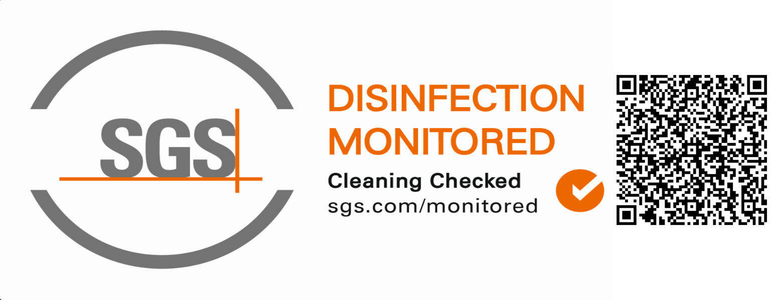 SGS Disinfection Monitored